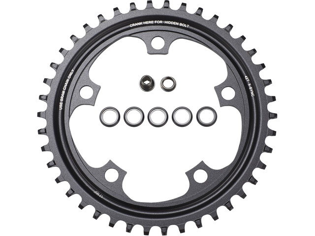 SRAM X-Sync Klinge aluminium 11-speed, black